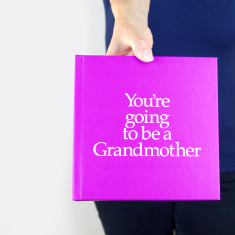 You're going to be a grandmother book and gift