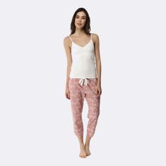 Spring Blooms Pant & Cami Set Pink