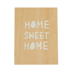 Home sweet home ply screenprint