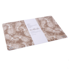 Gold our lieu pineapple placemats (pack of 4)