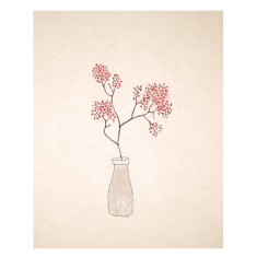 An April Idea cherry blossoms print