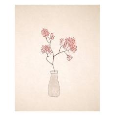 An April Idea cherry blossoms print