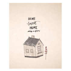 An April Idea home sweet home print