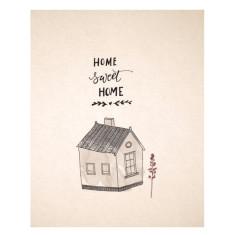 An April Idea home sweet home print
