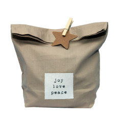 Joyeux Noel mini gift bag pack (set of 2)