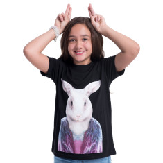 Rabbit kid's tee