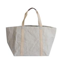 Oversize stone grey tote