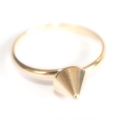 Adjustable cone ring