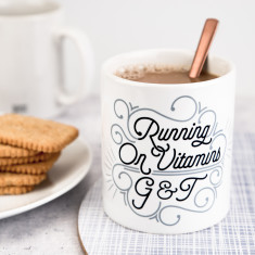 Running On Vitamins G And T Mug