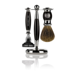 Mayfair Shaving Set - Ebony