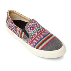 Slate Slip On Sneakers