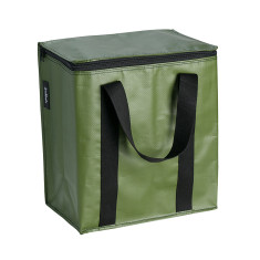 Insulated Cooler bag in Khaki print