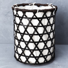 Bamboo Laundry Basket with Cotton Lining