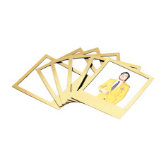 DOIY golden magnetic polaframes (set of 8)