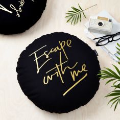 Escape With Me Cushion