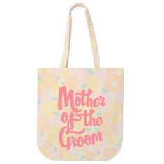 Mother Of The Groom Floral Tote Bag
