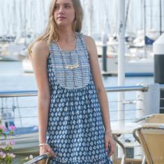Paisley blue Shilpi dress