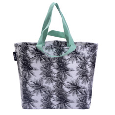Shopper bag in palm