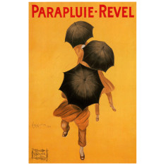 Parapluie Revel vintage poster