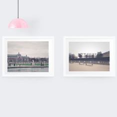 Paris photography prints (set of 2)