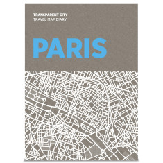 Palomar transparent city travel map diary (various cities)
