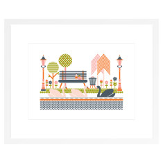 Parkside Art Print