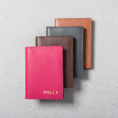Personalised Leather Multi Card Holder