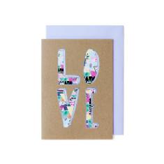 Love greeting cards (pack of 5)