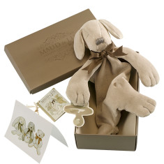 Paws the Puppy Soft Baby Toy Comforter