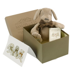 Puppy organic cotton soft toy