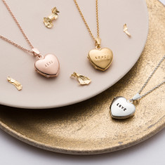 Personalised Mini Heart Locket