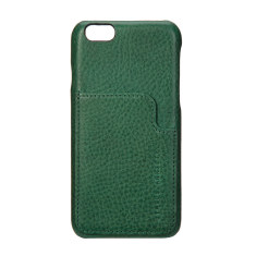Hunter and Fox leather iPhone case in green