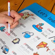 Children's Educational Phonics Whiteboard Plaque