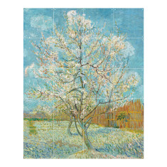 IXXI the pink peach tree wall art
