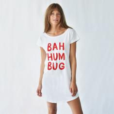 Bah Humbug Women's Christmas Nightshirt