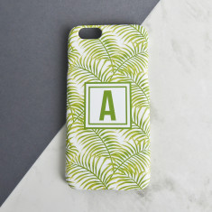 Palm Leaf Personalised Phone Case