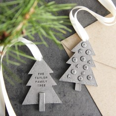 Personalised 'Family Tree' Christmas Decoration