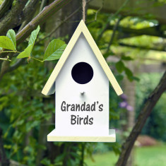 Personalised Bird Box