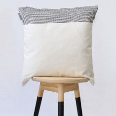 Colourblock cushion cover