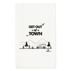 Land rover Camping Tea Towel
