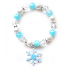 Children's Frozen inspired elastic bracelet