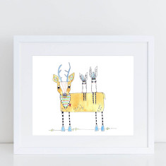 Forest Friends - Limited Edition Fine Art Print