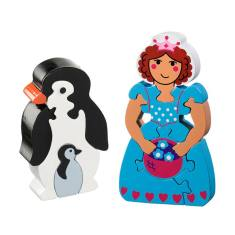 Penguin and Princess Holly jigsaw value pack