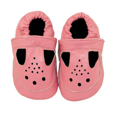 Perfectly pink baby shoes