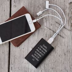 Personalised portable power bank