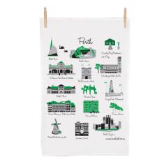 Perth icon tea towel