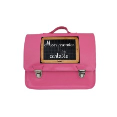 My first schoolbag petite satchel in pink