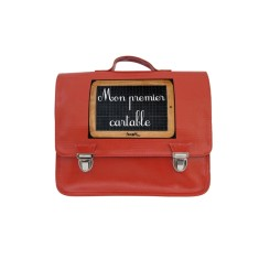 My first schoolbag petite satchel in red