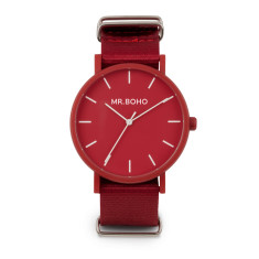 Mr Boho Gomato Cherry Red Watch