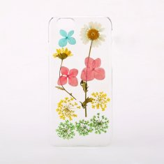 Mixed pressed multi flower phone case for iPhone & Samsung